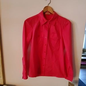 Ellen Tracy Long Sleeve Blouse-NWT-6